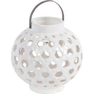 Very best Punched Ceramic Lanterns   Wayfair CM11