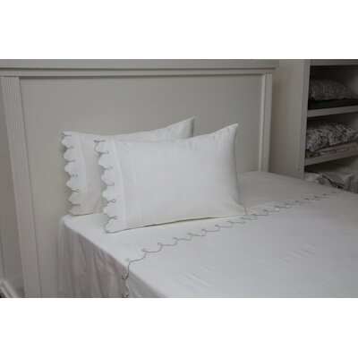 One Allium Way Claudie Embroidered Single Duvet Cover One Allium Way Size King Color White Dailymail