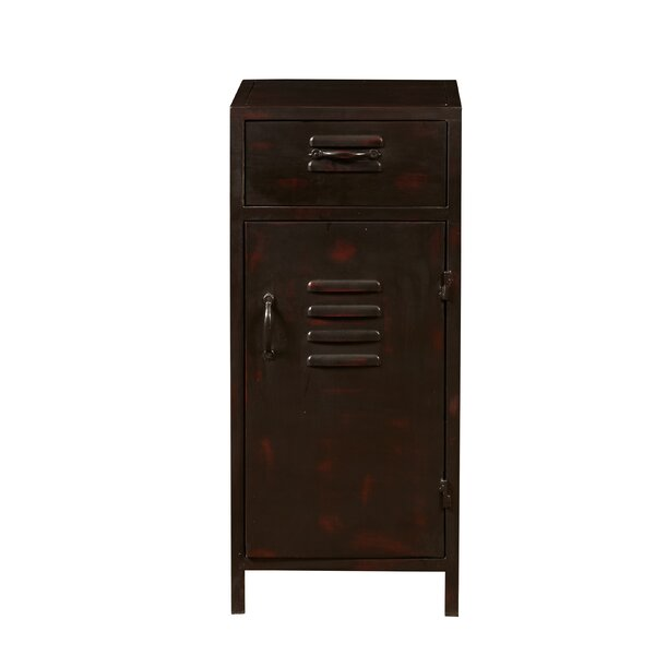 Abbie 1 Door Accent Cabinet by 17 Stories