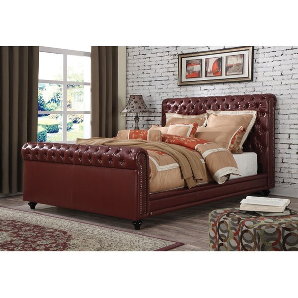 Bronwen King Upholstered Standard Bed by 17 Stories