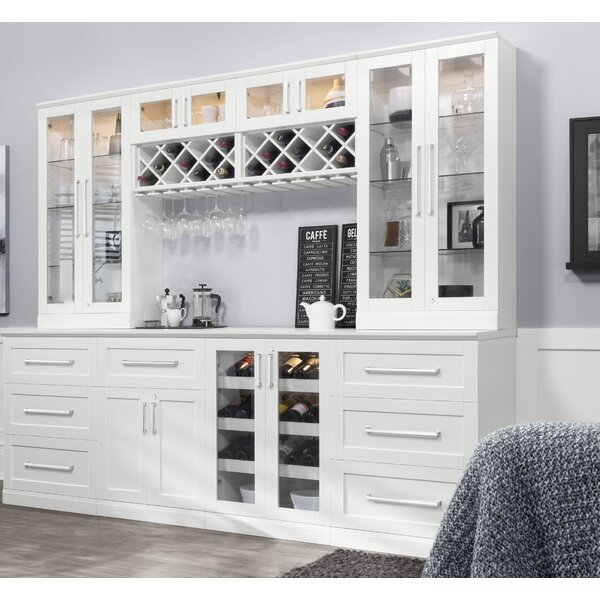 Home Bar 6 Piece Shaker Style by NewAge Products