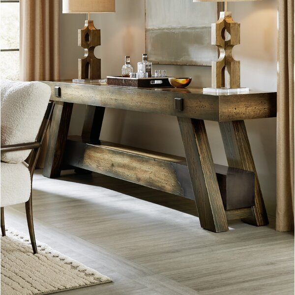 Crafted Console Table by Hooker Furniture