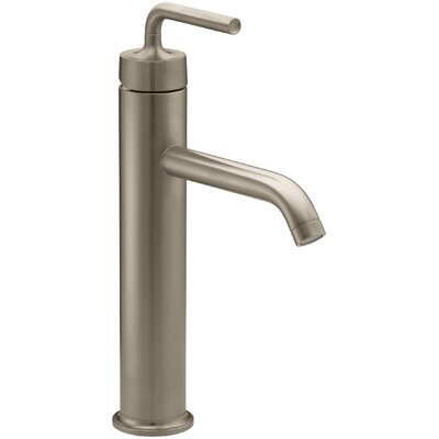 Sink Faucet Drain Brushed Bronze photo