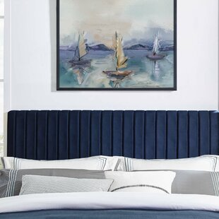 Sevenoaks Upholstered Panel Headboard by Orren Ellis