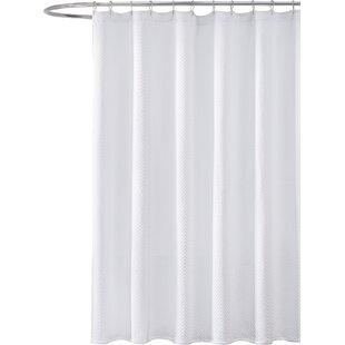 Gaetane Cotton Chevron Shower Curtain