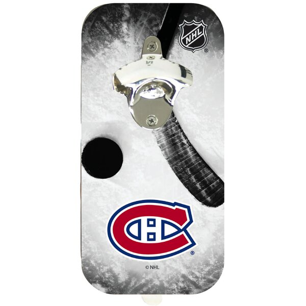NHL Magnetic Bottle Opener by Team Sports America