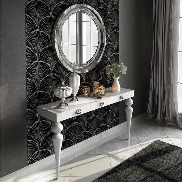 Kondo Console Table And Mirror Set By Everly Quinn