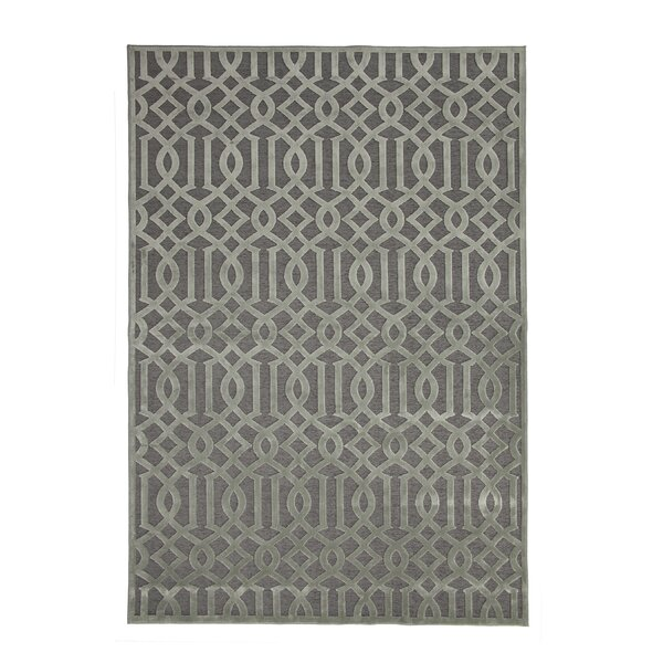 Cedar Grey/Silver Area Rug by Everly Quinn