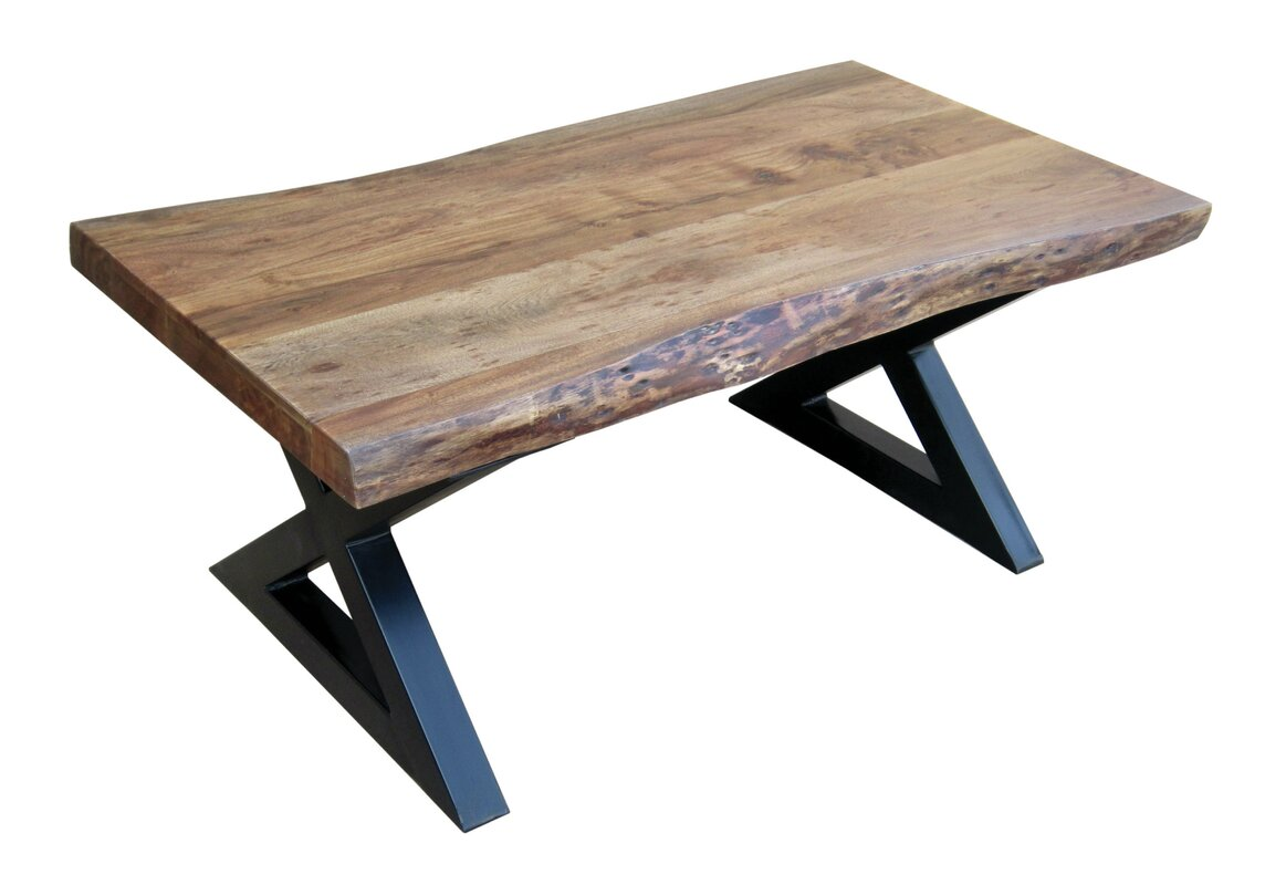 Trent Austin Design Piumafua X Cross Legs Coffee Table Reviews