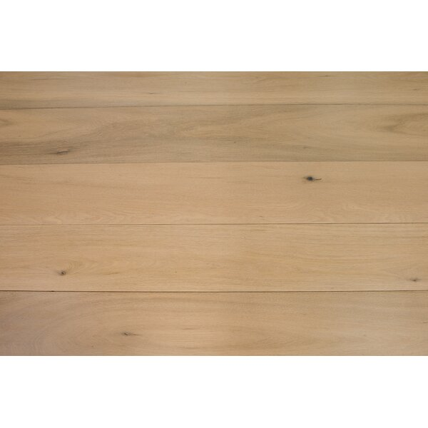 Bergen 7-1/2 Engineered Oak Hardwood Flooring in Light by Branton Flooring Collection