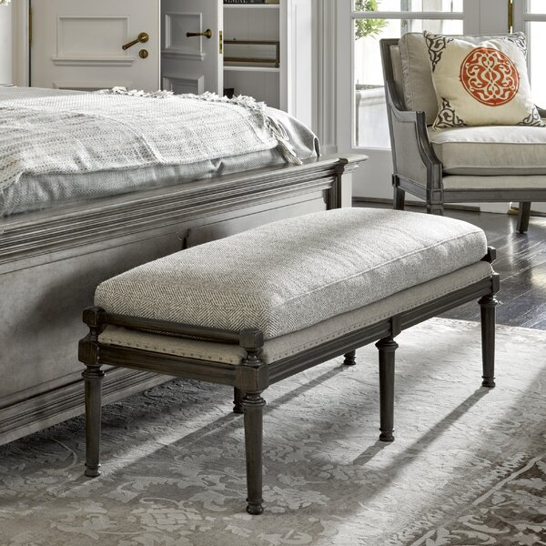 Kersey Wood Bench by Darby Home Co