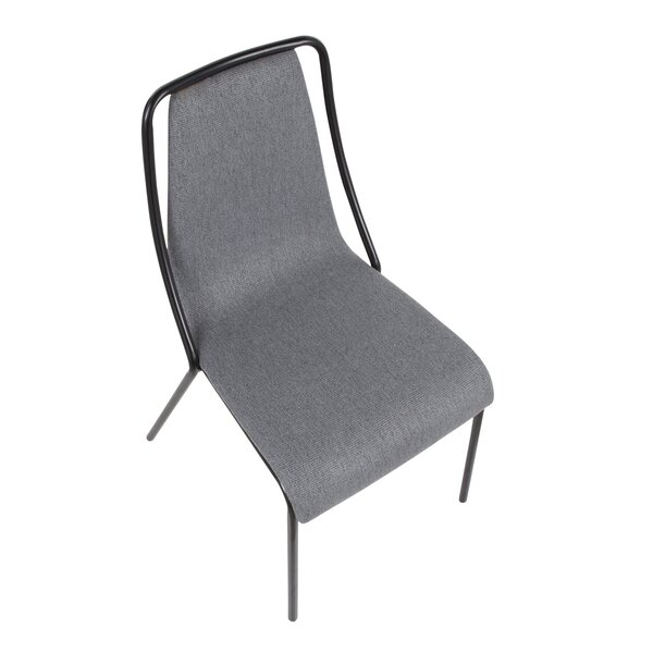 Beckenham Contemporary Upholstered Dining Chair (Set of 4) by Ebern Designs