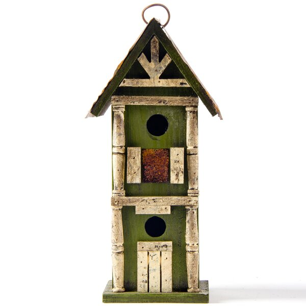 Freestanding Birdhouse by Glitzhome