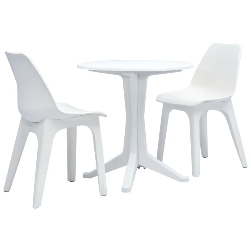Latitude Run Eleri 3 Piece Bistro Set | Wayfair