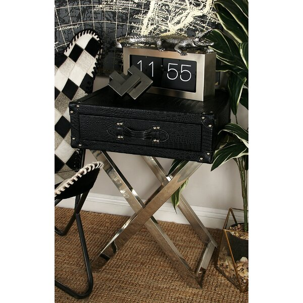 Parlington Stainless End Table by Mercer41