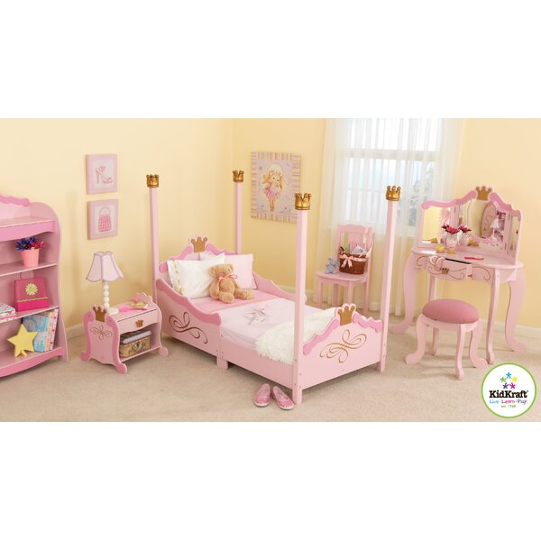 Princess Toddler Four Poster Configurable Bedroom Set by KidKraft