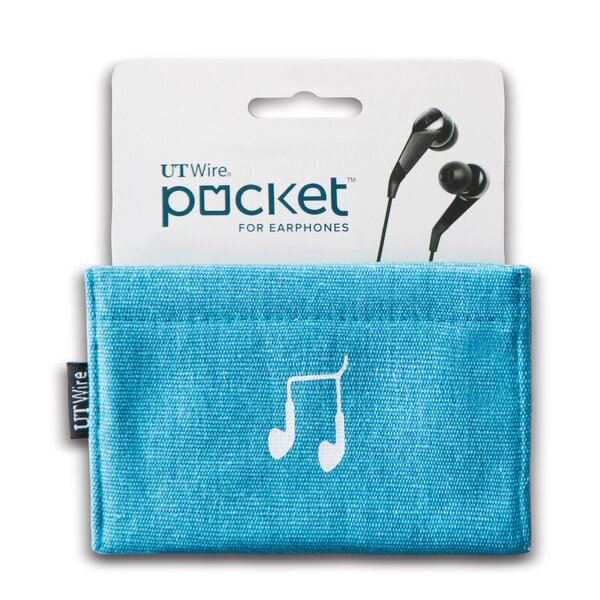 Cable Management Pocket for Earphone by UT Wire