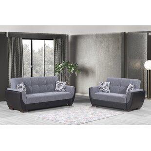 Noni 2 Piece Sleeper Living Room Set by Latitude Run®