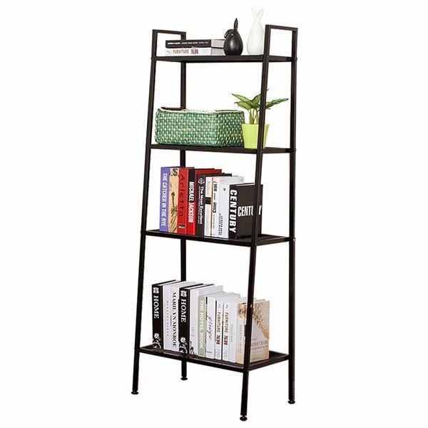 Fair 4-Tier Ladder Bookcase by Ebern Designs