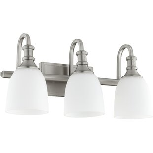 Price comparison Falbo 3-Light Vanity Light By Charlton Home