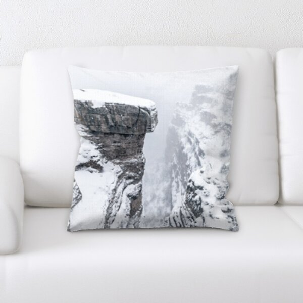Winter Feeling (210) Throw Pillow by Rug Tycoon