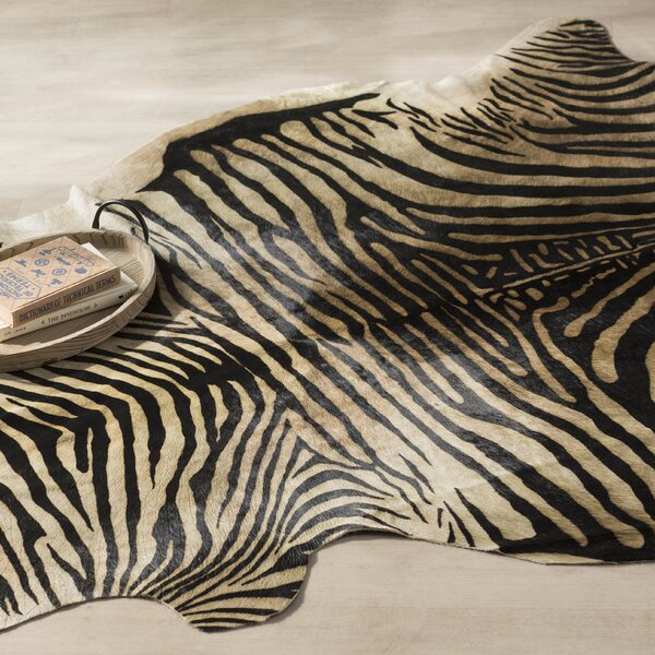 Nath Hand-Woven Black Area Rug by World Menagerie
