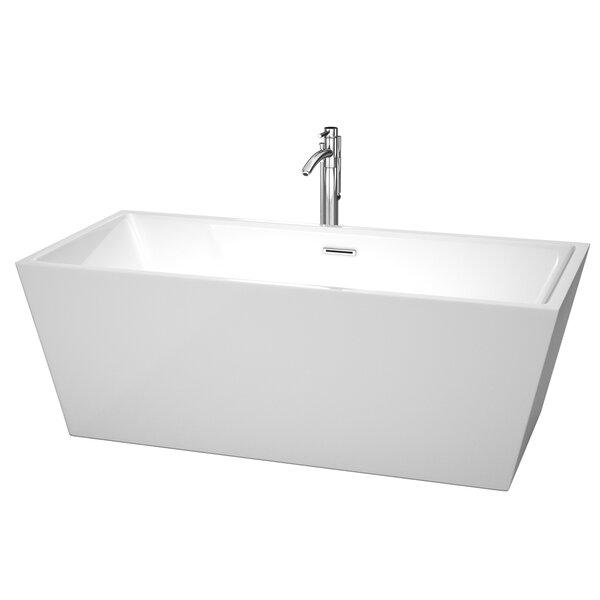 Sara 67 x 31.5 Soaking Bathtub by Wyndham Collection