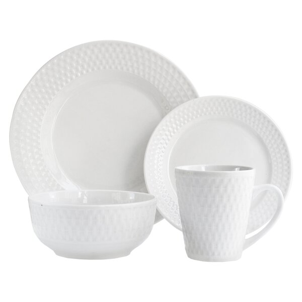 Juliette 16 Piece Dinnerware Set by Elle Decor