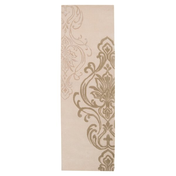 Gardiner Modern Classics Ivory/Beige Area Rug by Ophelia & Co.