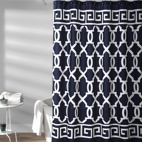 Rondo Shower Curtain by Charlton Home
