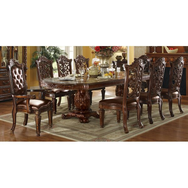 #1 Vendome Floral Carved Side Chair (Set Of 2) By A&J Homes Studio New Design