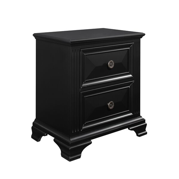 Shaniya 2 Drawer Nightstand by Darby Home Co Darby Home Co