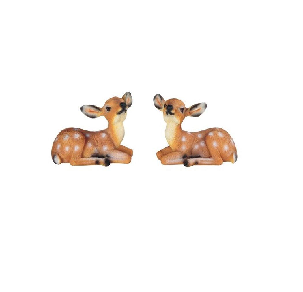 Loon Peak 2 Piece Trexler Lovely Mini Bambi Figurine Set Wayfair