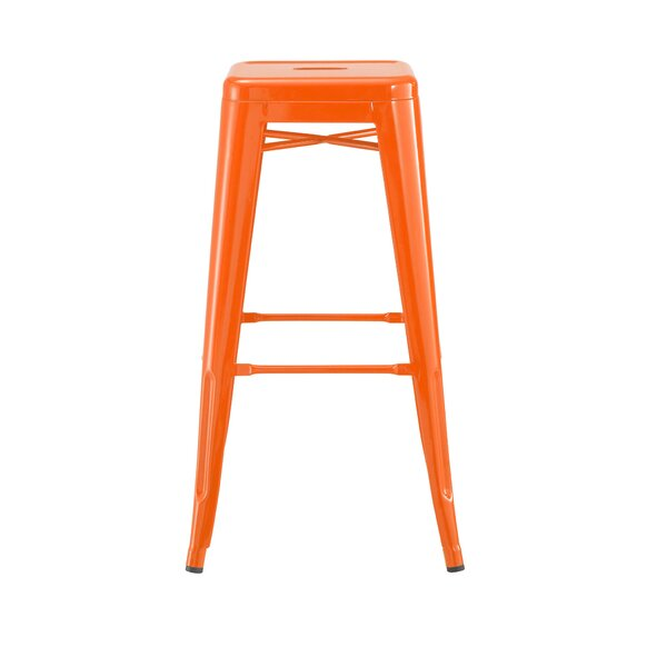Despres Steel Stackable 30 Bar Stool (Set of 4) by Williston Forge