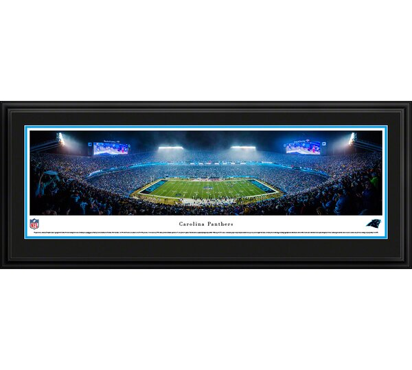 NFL Carolina Panthers by Christopher Gjevre Framed Photographic Print by Blakeway Worldwide Panoramas, Inc