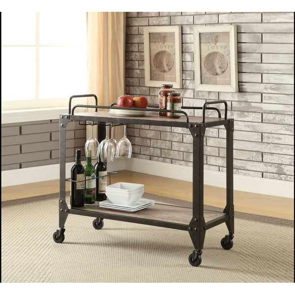 Tyler Serving Bar Cart By Williston Forge 2019 Coupon