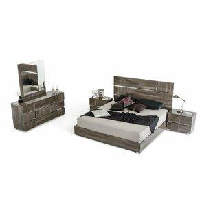 Falbo King Platform Bedroom Set (Set of 2) by Orren Ellis