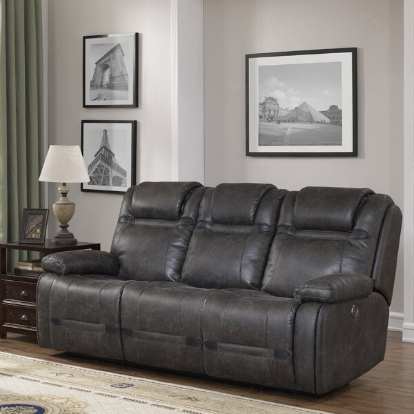Slayden Reclining Sofa by Winston Porter