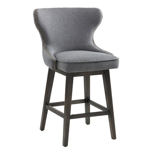 Roxann Height Bar Stool by Darby Home Co