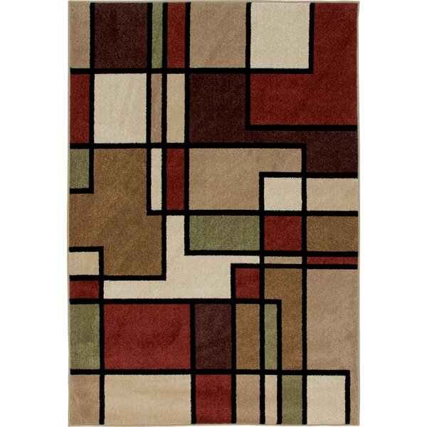Gabriel Brown Indoor/Outdoor Area Rug by Threadbind