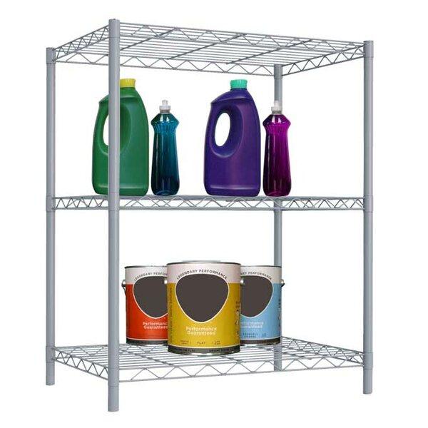 Wire Three Shelf Shelving Unit by Sunbeam