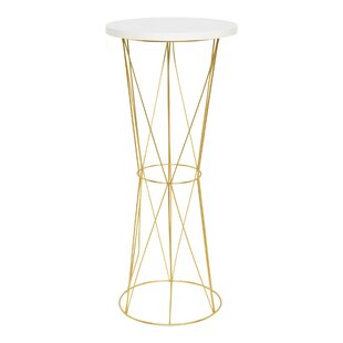 Graber Round Metal End Table