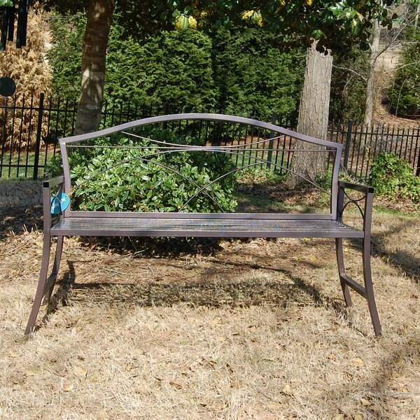 Keansburg Steel Garden Bench by Griffith Creek Designs