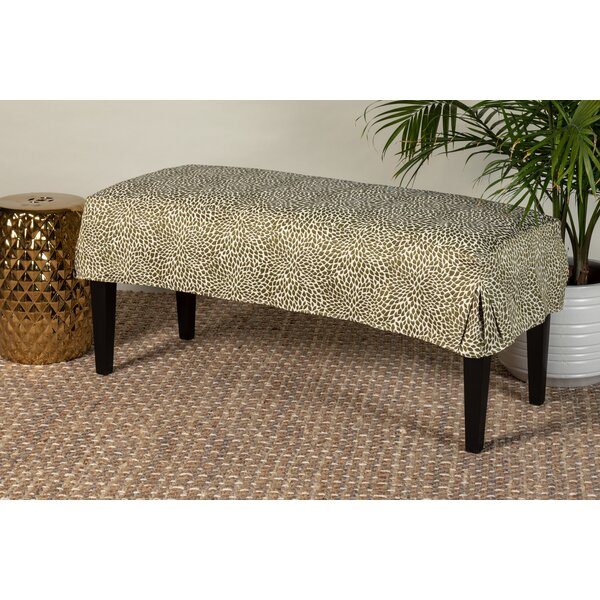 Rueter Slipcover Bench by World Menagerie
