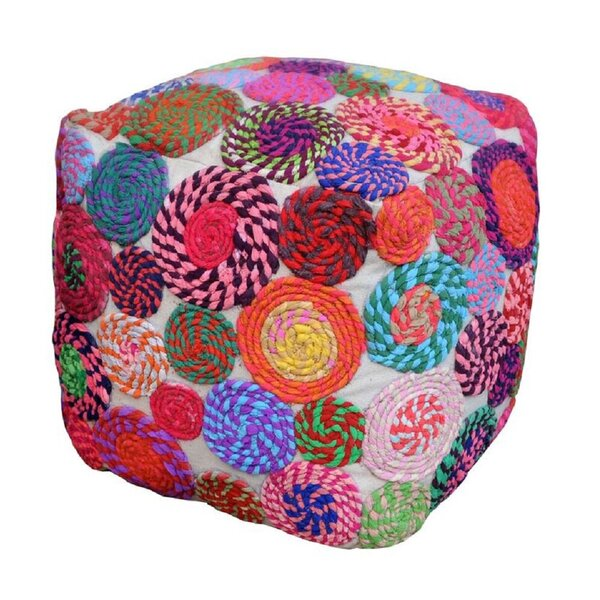 Burress Pouf by Bungalow Rose