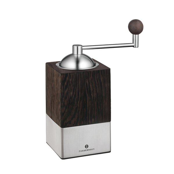 Guatemala Stainless Steel/Wenge Manual Coffee Grinder by Frieling
