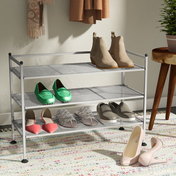 3-Tier 9 Pair Shoe Rack