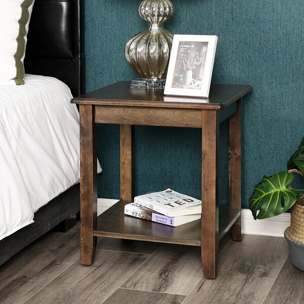 Pilla End Table by Charlton Home