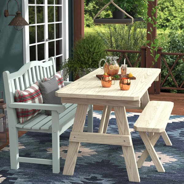 Steuben Pine Picnic Table by Loon Peak