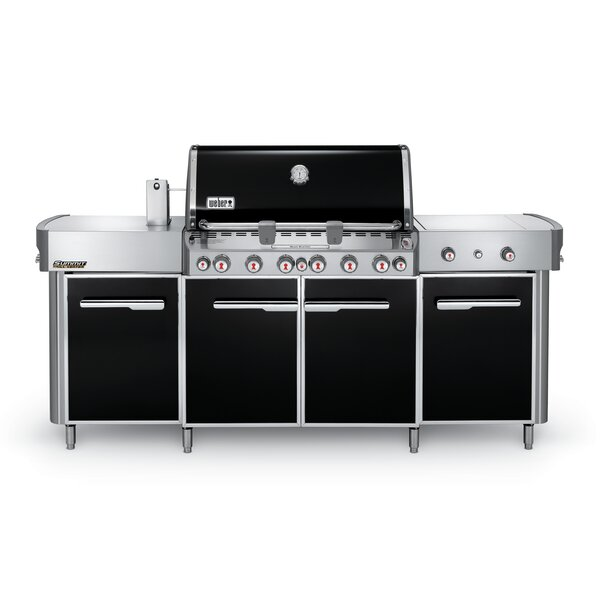 Summit® Grill Center 6-Burner Propane Gas Grill with Smoker by Weber